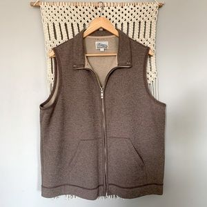 Vintage Zipper Front Cottagecore Sweater Vest